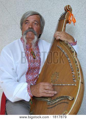 Senior Ukrainian Folk Travelling Musician