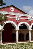 foto of hacienda  - Old spanish Yucatecan Hacienda Henequenera at Xcaret park - JPG