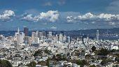 San Francisco, California, Usa, The Downtown At The High Noon poster