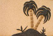 pic of urbanisation  - Desert Island decoration on Stone Wall - JPG