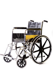 foto of medical equipment  - A isolated wheelchair - JPG