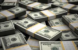 foto of billion  - Billion Dollar Concept Image  - JPG