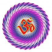 picture of swastik  - Aum Festival Background - JPG