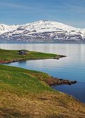 picture of iceland farm  - Iceland summer landscape - JPG