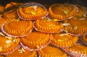 picture of bangla  - India tasty fresh sweets background taken in the market - JPG