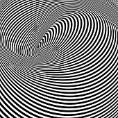 stock photo of sensory perception  - Spiral Optical Illusion  - JPG