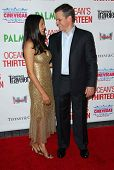 Matt Damon and wife Luciana Barroso at the CineVegas Opening Night Premiere Of