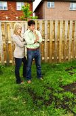 Couple Concerned About Lawn