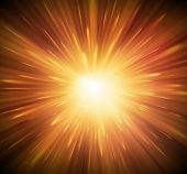 image of big-bang  - Background with explosion - JPG