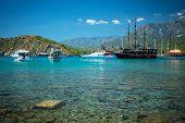 Постер, плакат: Mediterranean Coast Turkey Kemer