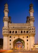 picture of charminar  - 400 year old historic charminar monument in Hyderabad - JPG