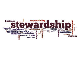 stock photo of stewardship  - Stewardship word cloud image with hi - JPG