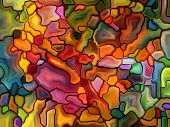 pic of fragmentation  - Stained Glass Pattern series - JPG