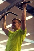 stock photo of pull up  - sport - JPG