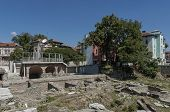 pic of northeast  - The ancient stadium Philipopolis in Plovdiv, Bulgaria. Odeon of Philippopolis is located in the northeast corner 