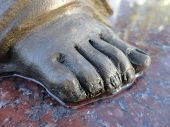 picture of slab  - Foot of an angel - JPG