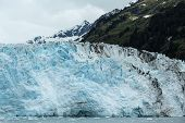 picture of mear  - View of Meares Glacier in Alaska - JPG
