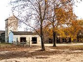 picture of burlington  - A Fall scene in Batsto Village in Burlington County New Jersey. ** Note: Soft Focus at 100%, best at smaller sizes - JPG
