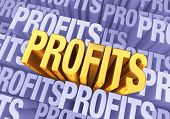 image of profit  - A bright gold  - JPG