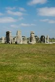 pic of stonehenge  - Stonehenge is a prehistoric monument located in Wiltshire - JPG