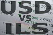 foto of shekel  - US dollar versus Israeli new shekel  - JPG