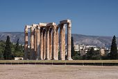 image of olympian  - Temple of Olympian Zeus in Athens Greece - JPG
