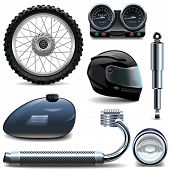 picture of speedo  - Motorcycle spares icons - JPG