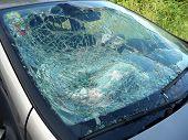 foto of car-window  - Car window pane - JPG