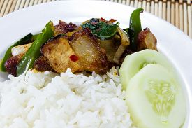 pic of crispy rice  - Rice and Stir - JPG