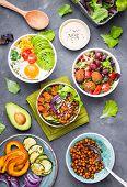 Buddha Bowl Salads poster