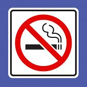 No Smoking sing - VECTOR
