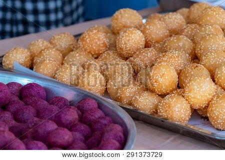 Thai Traditional Dessert Deep Fried