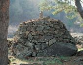 picture of seoraksan  - Buddhist grave - JPG