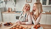 Mother With Daughter At Home poster