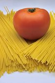Tomato On Spaghetti poster