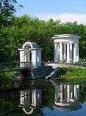stock photo of ekaterinburg  - rotunda on the pond - JPG