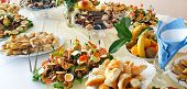 Catering Buffet Or Party Food, Appetizers poster