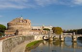 Castel Sant'angelo And Ponte Sant'angelo