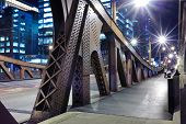 pic of illinois  - One of bridge in downtown of Chicago - JPG