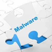 stock photo of malware  - Protection concept - JPG