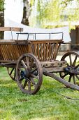 picture of ox wagon  - old oxen - JPG