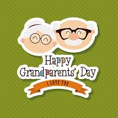 pic of special day  - abstract grandparents day background with special objects - JPG