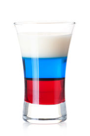 stock photo of alcoholic drinks  - Shot cocktail collection - JPG