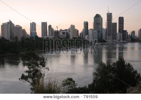 poster of Brisbane City River
