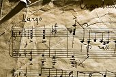 pic of musicial  - The old musical notebook - JPG