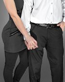 pic of friendship belt  - a couple holding hands in classical clothes - JPG