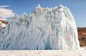 Постер, плакат: The Eqi Glacier Greenland