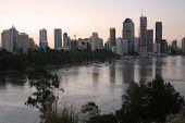 Brisbane City River   poster