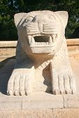 pic of mausoleum  - Lion of Anitkabir - JPG