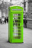 image of phone-booth  - Famous telephone booth in London - JPG